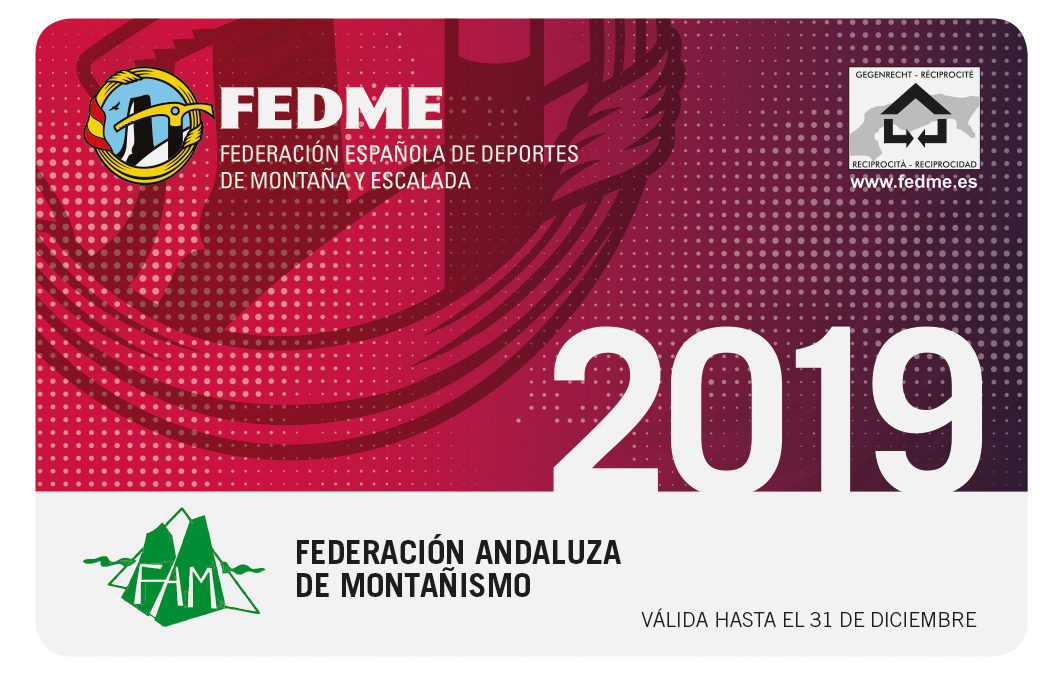 Mountaineering Federation License 2019