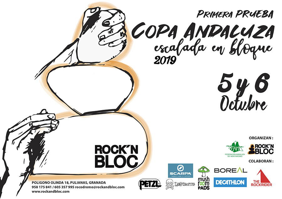 I Round Andalusian Bouldering Championship 2019